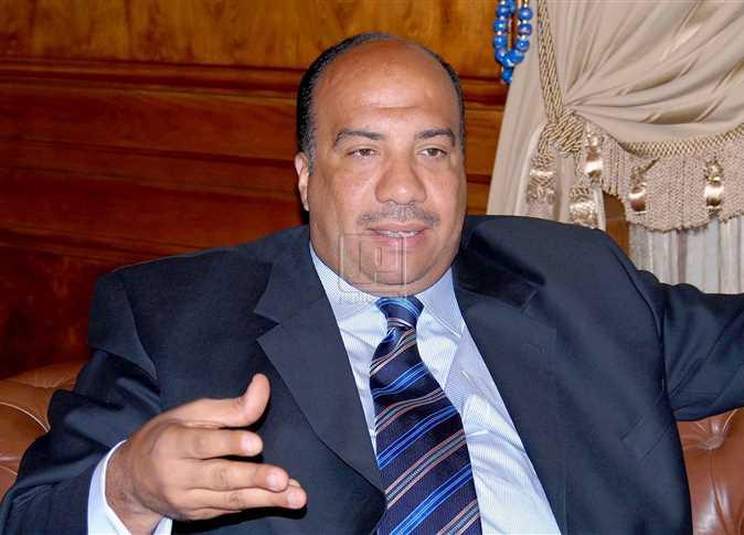 محمد مصيلحي ، نائب رئيس الاتحاد السكندري . - صورة أرشيفية