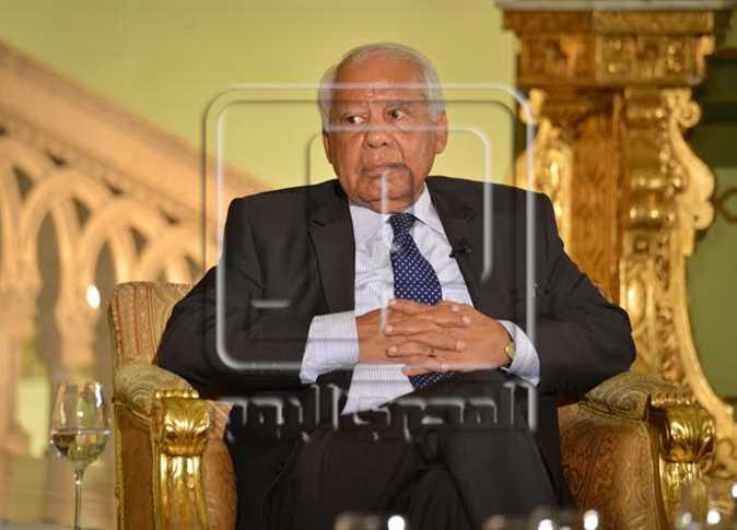 الببلاوي في صالون التحرير - صورة أرشيفية