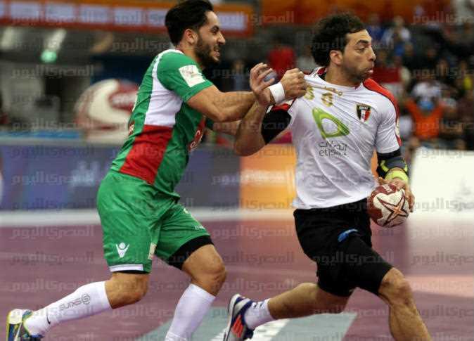 أحمد الأحمر لاعب المنتخب المصري، 16 يناير 2015. - صورة أرشيفية