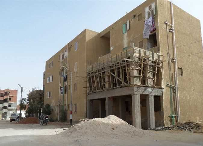 عمارات مخالفة بالوادي الجديد  - صورة أرشيفية