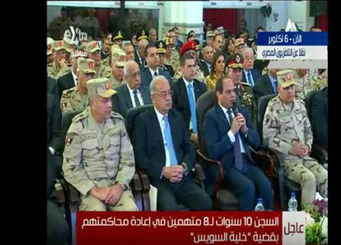 السيسي يشهد افتتاح عدد من المشروعات بمدينة 6 أكتوبر