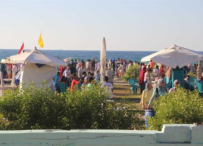 مهرجان ترفيهي على شواطئ العريش - صورة أرشيفية