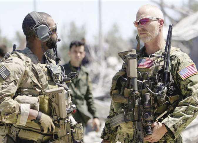 عناصر من الجيش الأمريكى فى شمال سوريا «صورة أرشيفية» - صورة أرشيفية