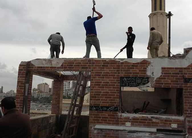 تنفيذ قرارات إزالة في الإسكندرية - صورة أرشيفية