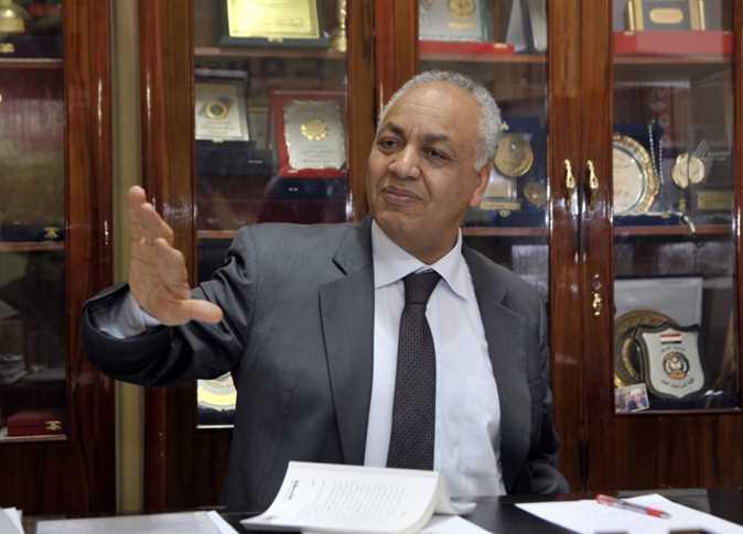 الكاتب الصحفي والنائب مصطفى بكري - صورة أرشيفية