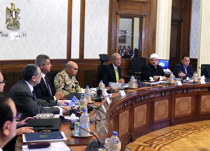 اجتماع مجلس الوزراء الأسبوعي، 18 مارس 2018.