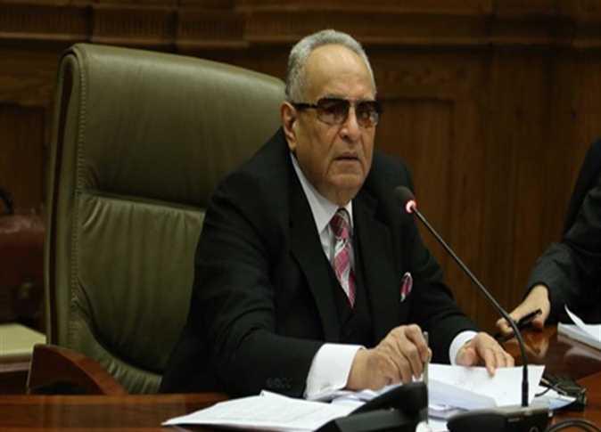 المستشار بهاء أبو شقة رئيس حزب الوفد - صورة أرشيفية