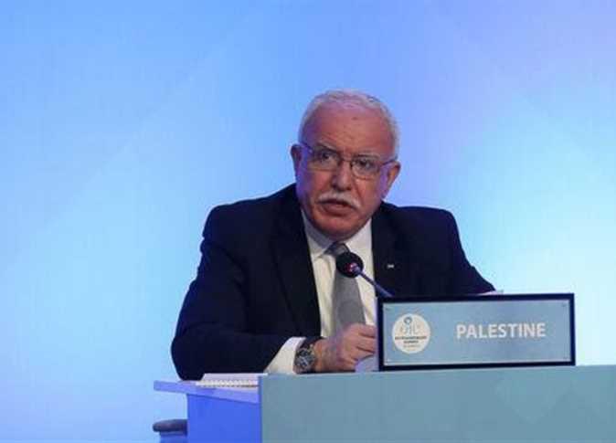 وزير الخارجية الفلسطيني رياض المالكي - صورة أرشيفية