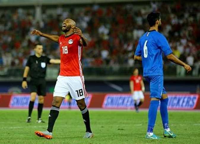 مباراة مصر والكويت الودية