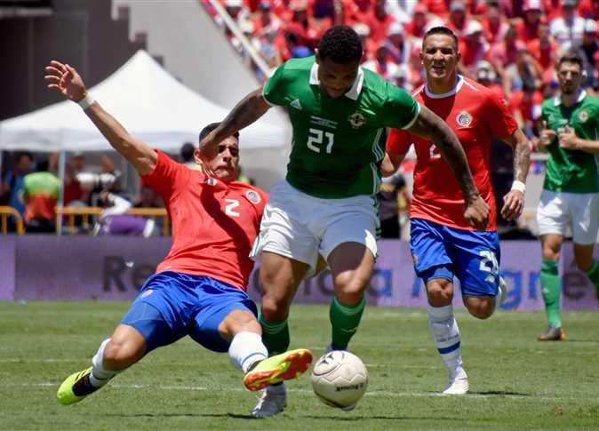 مباراة كوستاريكا وأيرلندا الشمالية