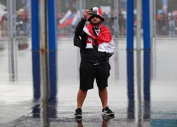 أمطار غزيرة في سان بطرسبرج