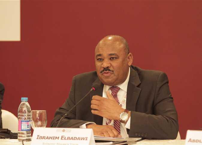 الدكتور ابراهيم البدوي، مدير منتدى البحوث الاقتصادية - صورة أرشيفية