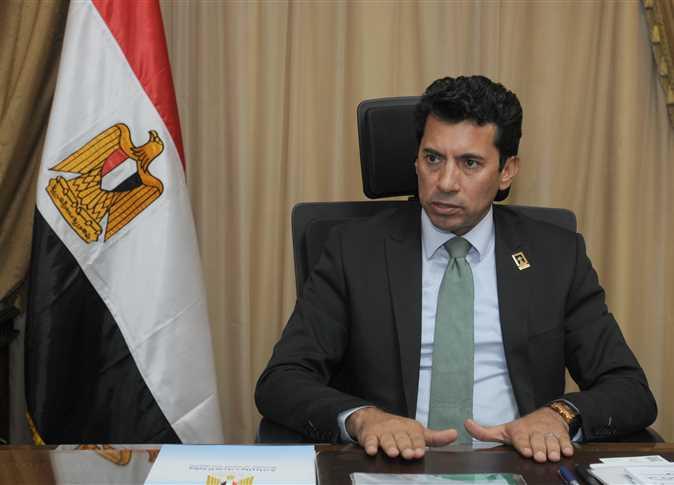 أشرف صبحى، وزير الشباب والرياضة - صورة أرشيفية