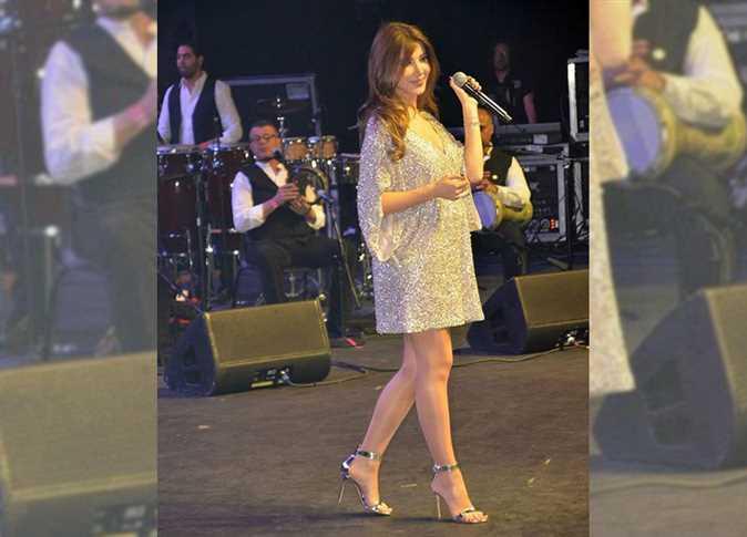 نشرت المطربة نانسي عجرم صورة من حفلها في لاس فيجاس - صورة أرشيفية