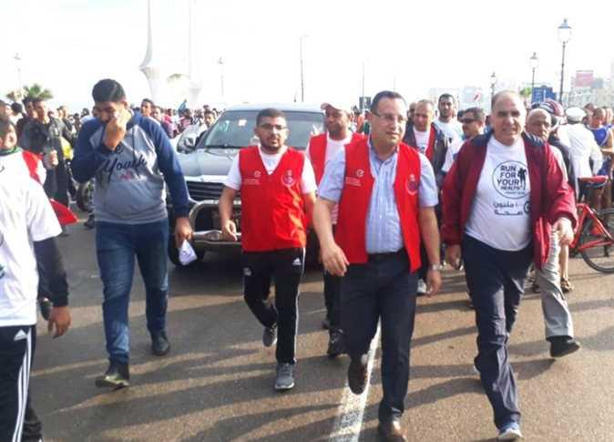 انطلاق ماراثون «اجري لصحتك» على كورنيش الإسكندرية
