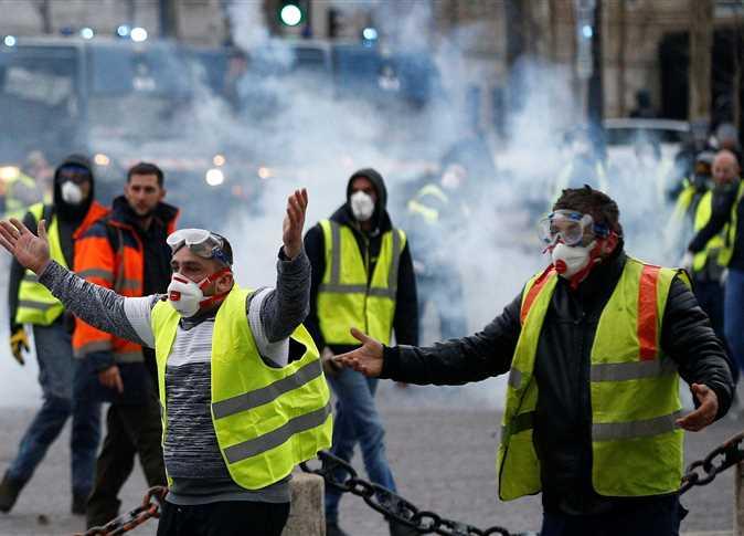 الاحتجاجات في فرنسا - صورة أرشيفية
