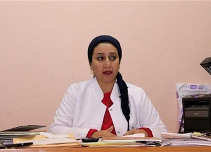 الدكتورة ريهام غلاب، مدير الحملة القومية للكشف عن فيروس سي والأمراض غير السارية