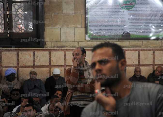 خطبة الدكتور محمد مختار جمعة، وزير الأوقاف، بمسجد الحسين.  - صورة أرشيفية