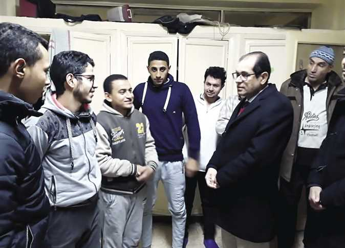 نائب رئيس جامعة الأزهر يتفقد المدينة الجامعية للبنين بالقاهرة