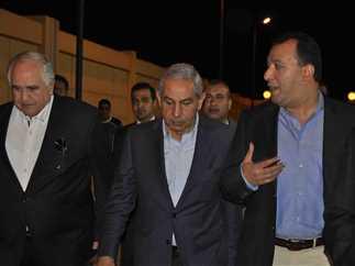 وزير الصناعة والتجارة يتفقد المنطقة الصناعية بمدينة طيبة بالأقصر، 3 ديسمبر 216.