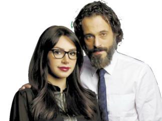 يوسف الشريف وزوجته - صورة أرشيفية