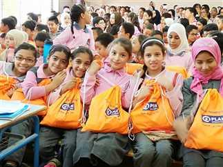 «بلان إيجبت» ترفع وعي 572 طالب وطالبة من المصريين والسوريين بمباديء النظافة الشخصية