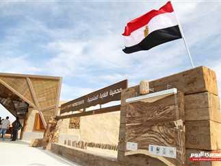 افتتاح محمية «الغابة المتحجرة» بعد إزالة 35 ألف متر مكعب مخلفات