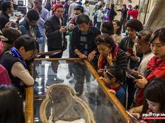 عرض «المومياء الصارخة» بالمتحف المصري
