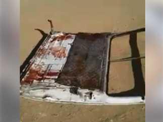 اللقطات الأولى لحادث دير أنباء صموئيل الإرهابي