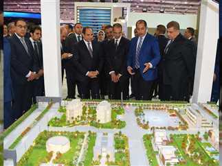 افتتاح فعاليات معرض القاهرة الدولي للاتصالات وتكنولوجيا المعلومات «cairo ict» بحضور الرئيس عبد الفتاح السيسي