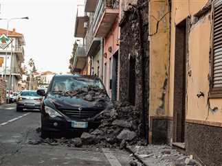 آثار زلزال بقوة 4.8 ريختر يضرب إيطاليا