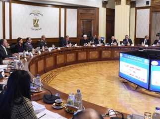 اجتماع مجلس الوزراء الاسبوعى