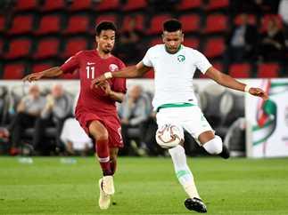 مباراة السعودية وقطر فى دور المجموعات بكأس أسيا