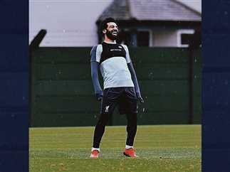 نشر النجم محمد صلاح، لاعب المنتخب الوطنى ونجم فريق ليفربول، صورة جديدة.