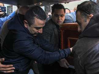 تشييع جنازة الفنان سعيد عبد الغني