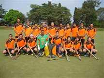 محافظ الشرقية يشهد تدريبات فريق الهوكي قبل انطلاق البطولة الأفريقية
