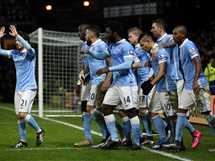 مانشستر سيتي يتعادل أمام ليون في دوري أبطال أوروبا