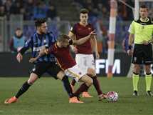 مباراة روما وانتر ميلان  - صورة أرشيفية