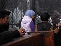 جلسة محاكمة المتهمين في قضية «أنصار بيت المقدس»، 28 يناير 2017.