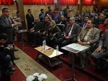 وزير التربية والتعليم يتفقد مدرسة القاهرة الفنية المعمارية بدار السلام، 13 فبراير 2017.