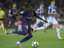 صحف: جماهير برشلونة تطالب بالعفو عن «ديمبلى» بعد هدفه فى الـ«سبيرز»