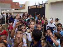 إضراب تلاميذ مدرسة ابتدائية بالبحيرة فى أول أيام الدراسة
