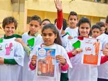 بلان إيجيبت تنفذ مبادرة للتشجيروتنظيف الشوراع بمشاركة 200 طفل