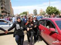 جنازة الكاتب الكبير أحمد خالد توفيق بمسقط رأسه في طنطا بمحافظة الغربية