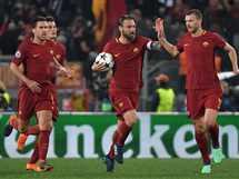 مباراة روما وبرشلونة في إياب ربع نهائي دوري أبطال أوروبا - صورة أرشيفية
