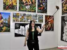 فاعليات الملتقى الدولي الثاني لفنون الجرافيك بالأقصر، 17 أبريل 2018.