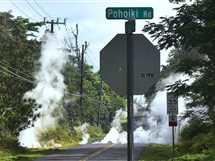 الحمم البركانية تشطر شوارع مدينة هاواي