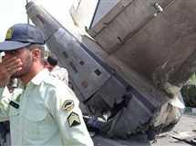 صورة أرشيفية لتحطم طائرة في إيران  - صورة أرشيفية