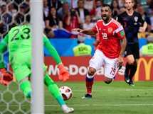 مباراة روسيا و كرواتيا في ربع نهائي كأس العالم