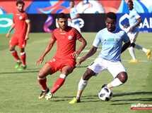 مباراة حرس الحدود والداخلية في الدوري المصري الممتاز